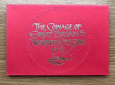 1973 Royal Mint Proof 6 Coin Collection - Original Sleeve UK/GB Year Set