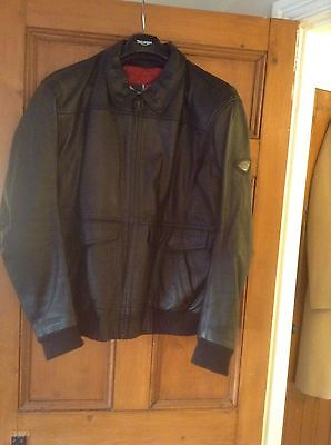 Triumph Mens Leather Limited edition jacket size 46/56