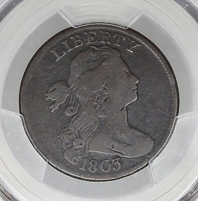 1803 Large Cent! Pcgs Vg 10! Small Date! Large Fraction! 1C!
