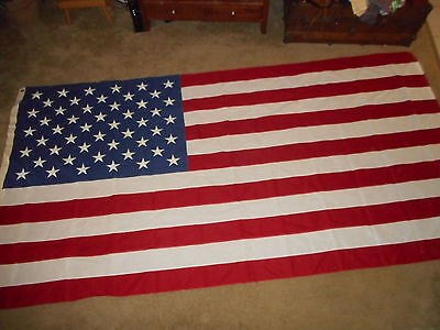 New 5×9-1/2, 50 star U.S. Flag,Valley Forge, BEST,100% cotton.