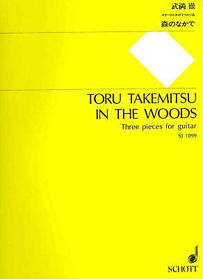 In the Woods: 3 Pieces for Guitar by Paperback Book (English)