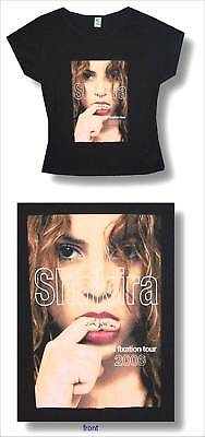 Shakira! Oral Fixation 06 Tour Black Baby Doll Girls Shirt Small New