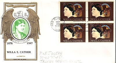 US FDC #1487 Cather Block, Jackson (19002)
