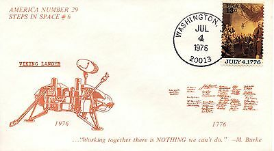 US FDC #1692 Bicentennial Unofficial, America (4101)