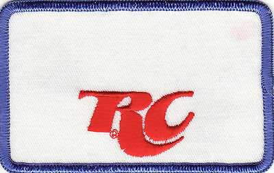 "RC Royal Crown Cola 4"" x 2 1/2"" Embroidered Patch *Vintage*"
