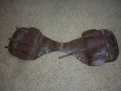 WWI WWII US Army CalvaryCavalry Horse Saddle Bags.