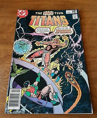 The New Teen Titans #6 Dc April 1981 Near Mint