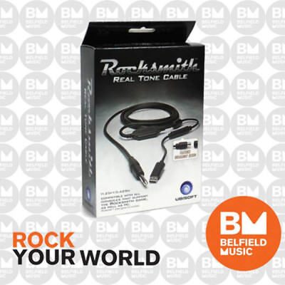 Rocksmith Real Tone Cable for Playstation / XBOX / PC - Learn Guitar or Bass