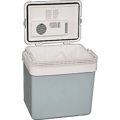 Quest 24L Combined Coolbox & Heater Camping 12V & 240V Cool Box Sports/Camping