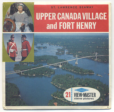 St. Lawrence Seaway Upper Canada Village Fort Henry Ontario View-Master A-033