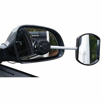 Suck It And See Towing Wing Mirror Stick On Extension Caravan Tralier Convex