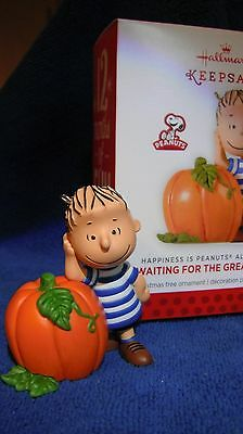 Waiting For The Great Pumpkin - Happiness is Peanuts All Year #3 - Hallmark 2014