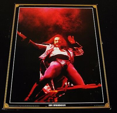 Jethro Tull/Ian Anderson-ORIGINAL 1970's Thought Factory 20 x 16 Poster-CLEAN!