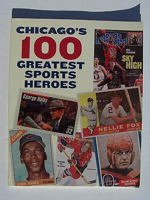 Chicago's 100 Greatest Sports Heroes Paperback 2011 James Wilkins (Illustrator)