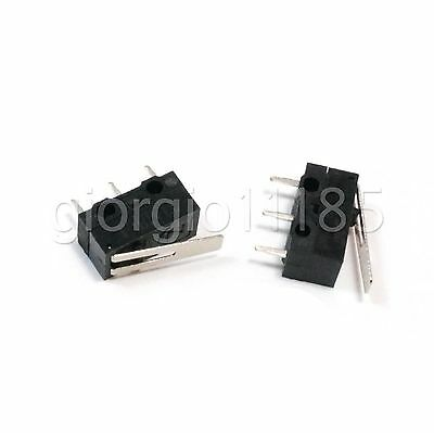 US Stock 20pcs AC 125V 1A SPDT Low Force Lever Momentary Micro Switch 3 PIN