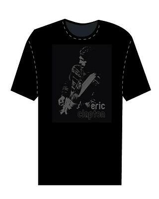 Eric Clapton 2006/7 World Tour  Black Fade T-Shirt Xl