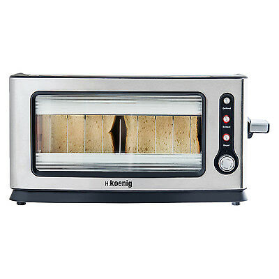 H.koenig View6 Grille Pain Toaster Electrique 900W