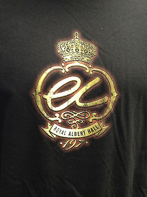 Eric Clapton 2013 Tour Royal Albert Hall T-Shirt Size Large