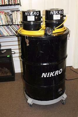 Nikro 55 Gallon Dual Motor Wet/Dry Vacuum Pick Up ONLY 19320!!