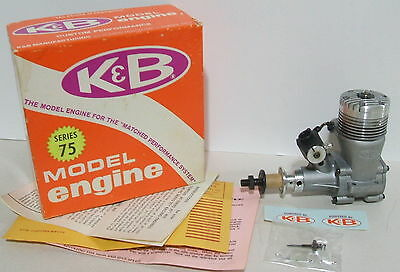 NIB -  K & B 40 R/C  Front Rotor Perry Carb -  Nitro Airplane Engine   Series 75