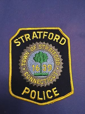 Stratford Connecticut Police  Shoulder Patch