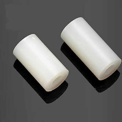 50pcs 3 x 7 x 4mm Plastic Nylon Round Column Standoff Spacer Washer For M3 Screw