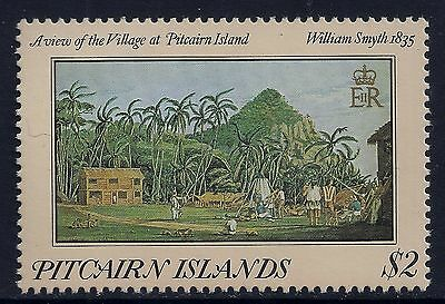 1985 Pitcairn Islands $2 Painting With 1835 Date Error Fine Mint Mnh/muh
