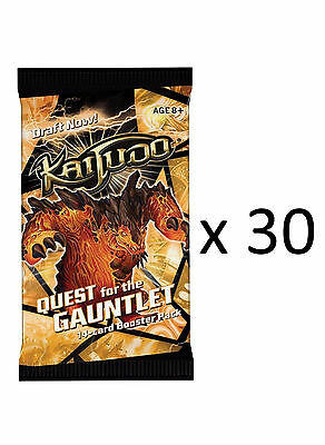 Kaijudo QUEST for the GAUNTLET Booster Packs - Brand New Sealed - LOT OF 30