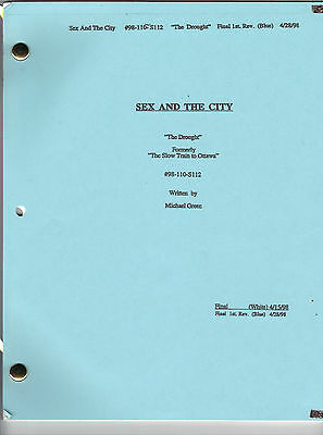 "SEX AND THE CITY show script ""The Drought"""