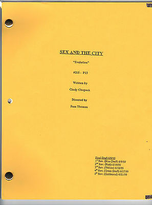 "SEX AND THE CITY show script ""Evolution"""