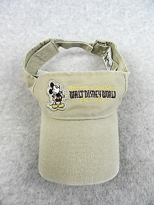 Walt Disney World Visor Hat New With Tags Adult Size Mickey