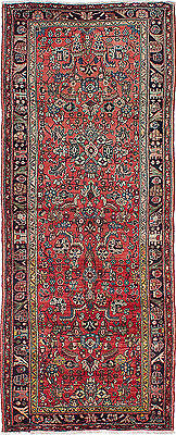 """Hand-knotted Persian Carpet 3'10"""" x 9'10"""" Persian Vintage Wool Rug...DISCOUNTED!"""