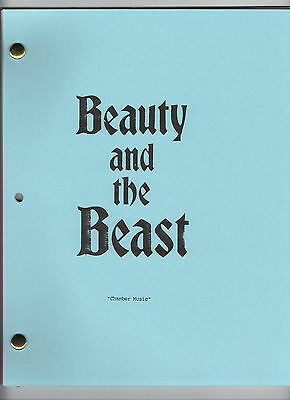 "BEAUTY AND THE BEAST show script ""Chamber Music"""