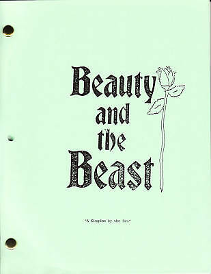 "BEAUTY AND THE BEAST show script ""A Kingdom by the Sea"""