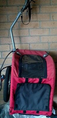 Bicycle trailer small red