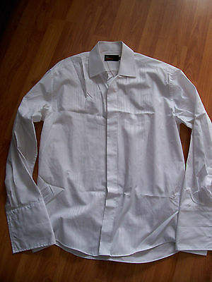 White dress shirt from M & S Tailoring, Size 15 ½, 39-40cm