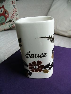 Vintage Retro TONI RAYMOND Sauce Pot - Brown Decoration