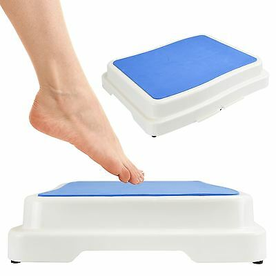 Bath Shower Non-Slip Step Stool Stackable X Large Bathroom Safety Aid Grip Step