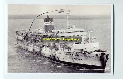 rp6254 - BISN Liner - Uganda returns from Falklands War - photo 6x4