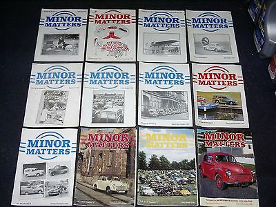 Minor Matters Morris Minor Owners Club Mmoc Magazine For Morris 1000 1990 - 2006