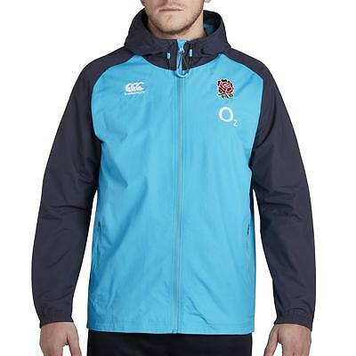 Canterbury England Men's Showerproof Full Zip Rain Jacket