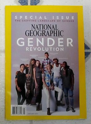 GENDER REVOLUTION National GEOGRAPHIC Special Issue SHIFTING LANDSCAPE Jan 2017
