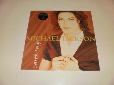 "Michael Jackson - Earth Song - 12"" Maxi Single 1995 Epic W/remixes - Nm/ex--"
