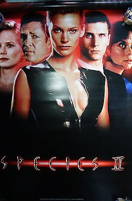 """Species II (1996)  US Single Sided Poster 47 x 73 inches """"King Sized Bed Size"""""""