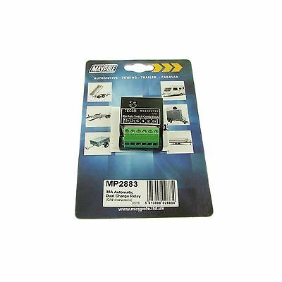 Maypole Automatic Dual Charge Relay - 30A - Camping - 2883