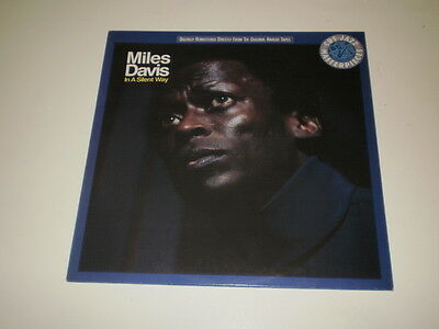 Miles Davis  - In A Silent Way - Lp Reissue 1987 Cbs Records - Ois - Nm/vg++