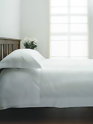 1000 Thread Count Single Ply Egyptian Cotton Flat Sheets White or Ivory All Size