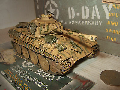 """Corgi US60204 Panther Ausf A, 2nd SS Panzer Regt, """"Black 424"""" in 1:50 Scale"""