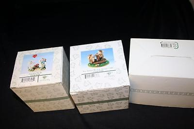 Lot of 3 Charming Tails New In Box Limited Edition Miniature Figurine