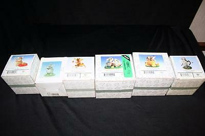 Lot of 6 Charming Tails New In Box Limited Edition Miniatures